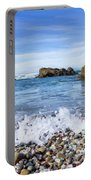 Glass Beach, Fort Bragg California Portable Battery Charger