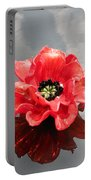 Glass Flower Portable Battery Charger