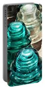 Glass Insulators Portable Battery Charger