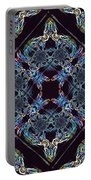 Glass Pattern Portable Battery Charger