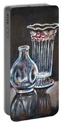 Glass Vases-still Life Portable Battery Charger