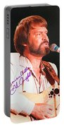 Glen Campbell Autographed Poster Portable Battery Charger