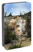 Glen Spring At Mammoth Hot Springs Upper Terraces Portable Battery Charger