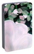 Glimmering Petals Portable Battery Charger
