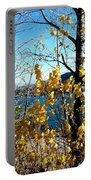 Glimpse Of Kalamalka Lake Portable Battery Charger