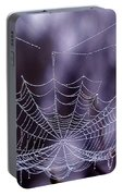 Glistening Web Portable Battery Charger