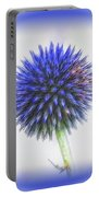 Globe Thistle With Vignette Portable Battery Charger