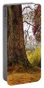 Glorious Fall In Benmore Botanical Garden. Scotland Portable Battery Charger