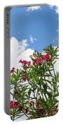 Glorious Fragrant Oleanders Reaching For The Sky Portable Battery Charger