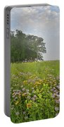 Glorious Morning At Glacial Park Portable Battery Charger