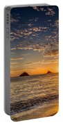 Glorious Playa Sunset Portable Battery Charger