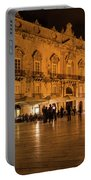Glossy Outdoor Living Room - Syracuse Sicily Italy Portable Battery Charger