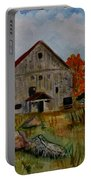 Glover Barn In Autumn Portable Battery Charger