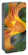 Glow Of A Lily Portable Battery Charger