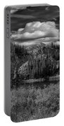 Glow On Lake Martha Bw Portable Battery Charger