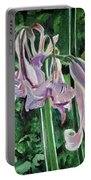 Glowing Amaryllis Portable Battery Charger