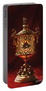 Glowing Antique Lantern Portable Battery Charger