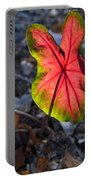 Glowing Coladium Leaf Portable Battery Charger