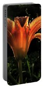 Glowing Day Lily Portable Battery Charger