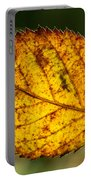 Glowing Fall Leaf Portable Battery Charger
