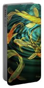 Glowing Koi  Portable Battery Charger