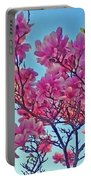 Glowing Magnolia Portable Battery Charger