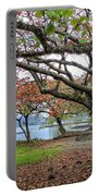 Gnarly Trees Of South Hilo Bay - Hawaii Portable Battery Charger