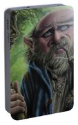 Gnome Wizard Portable Battery Charger