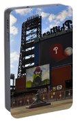 Go Phillies - Citizens Bank Park - Left Field Gate Portable Battery Charger