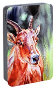 Goat From The Mountain Portable Battery Charger