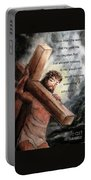 God So Loved The World Portable Battery Charger