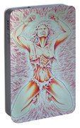 Goddess Breaking Chains Portable Battery Charger