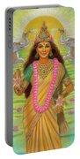 Goddess Lakshmi Portable Battery Charger