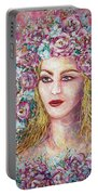 Goddess Of Good Fortune Portable Battery Charger