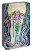 Goddess Of Intention Portable Battery Charger