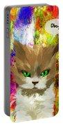 Goddess Santia As A Cat 687 Portable Battery Charger
