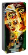 Goddess With Many Faces 671 Portable Battery Charger