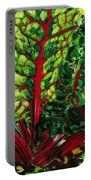 God's Kitchen Series No 7 Swiss Chard Portable Battery Charger