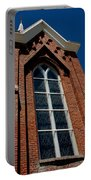 Gods Window St. Mary's In The Mountains Catholic Church Portable Battery Charger