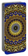 Gold And Sapphires  Portable Battery Charger