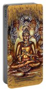 Gold Buddha - Peace  Portable Battery Charger