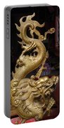 Gold Dragon Statue Portable Battery Charger