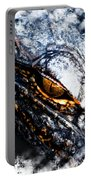 Gold Gator Eye Portable Battery Charger