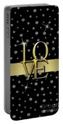 Gold Love  Portable Battery Charger