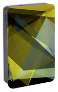 Gold Mine Polygon Pattern Portable Battery Charger