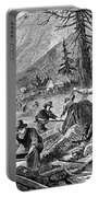 Gold Mining, 1853 Portable Battery Charger