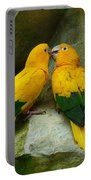 Gold Parakeets Portable Battery Charger