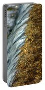 Gold Rush Abstract Portable Battery Charger