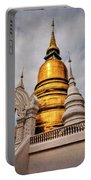 Gold Stupa Portable Battery Charger
