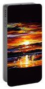 Gold Sunset Portable Battery Charger